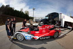 #46 Thiriet by TDS Racing Oreca Nissan at technical inspection