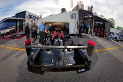 #95 Level 5 Motorsports HPD ARX-03b HPD at technical inspection