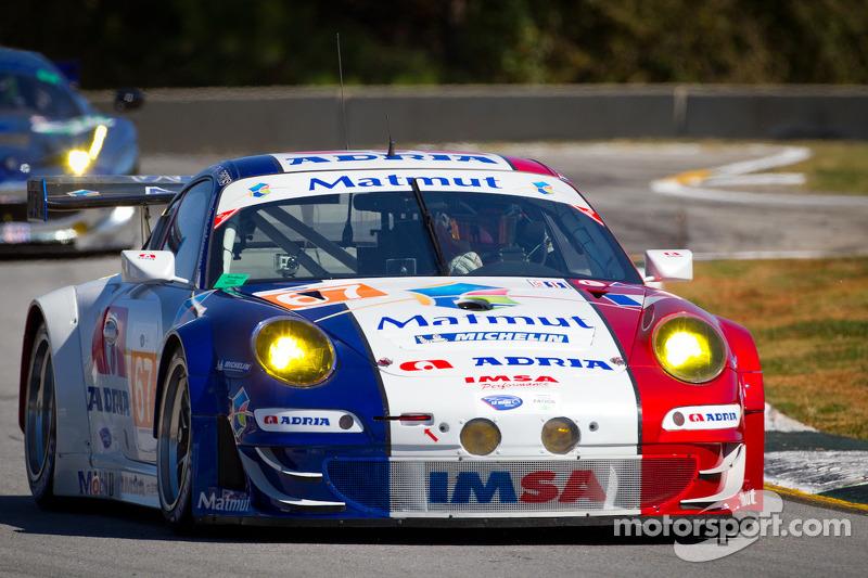 #67 IMSA Performance Matmut Porsche 911 GT3 RSR: Anthony Pons, Raymond Narac, Nicolas Armindo
