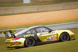 #11 JDX Racing Porsche 911 GT3 Cup: Chris Cumming, Michael Valiante goes off-track