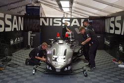 #0 Nissan DeltaWing Project 56 Nissan almost fully repaired after its massive crash on Wednesday