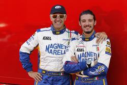 Лука Пердерсоли и Маттео Романо. Ралли Италия-Сардиния, тестовый СУ.
