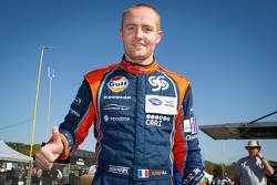 P2 pole winner Olivier Pla celebrates