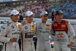 Qualifying, 3rd Bruno Spengler, Team HWA AMG Mercedes, AMG Mercedes C-Coupe, 4th Mattias Ekström, Au