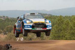 Luca Perdersoli en Matteo Romano, Citroën DS3 WRC
