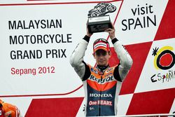 Podio: tercer lugar Casey Stoner, Repsol Honda Team