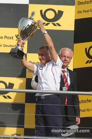 Podium: Charly Lamm, team manager BMW Team Schnitzer