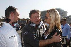 Gerhard Ungar, AMG; Cora Schumacher
