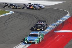 Start: Augusto Farfus Jr., BMW Team RBM BMW M3 DTM and Bruno Spengler, BMW Team Schnitzer BMW M3 DTM