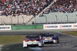 Andy Priaulx, BMW Team RBM BMW M3 DTM, Joey Hand, BMW Team RMG BMW M3 DTM