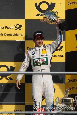 Podium: third place Augusto Farfus Jr., BMW Team RBM BMW M3 DTM