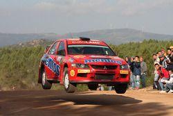 Valeriy Gorban en Andrii Nikolaiev, Mitsubishi Lancer Evo IX