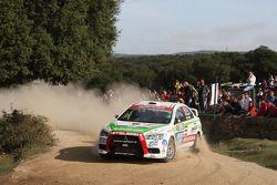 Benito Guerra and Borja Rozada, Mitsubishi Evo X