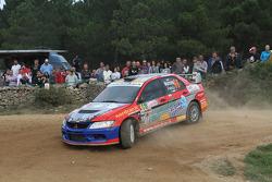 Francesco Marrone and Sebastiano Colla, Mitsubishi Evo IX