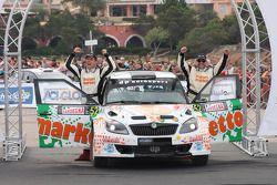 Giuseppe Dettori and Carlo Pisano, Skoda Fabia S2000