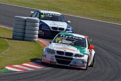 Stefano D'Aste, BMW 320 TC, Wiechers-Sport en Alberto Cerqui, BMW 320 TC, ROAL Motorsport