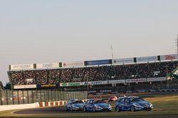 Yvan Muller, Chevrolet Cruze 1.6T, Chevrolet, Alain Menu, Chevrolet Cruze 1.6T, Chevrolet en Robert