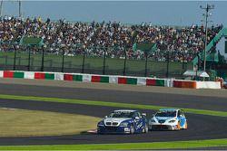 Alberto Cerqui, BMW 320 TC, ROAL Motorsport en Fernando Monje, SEAT Leon WTCC, SUNRED Engineering