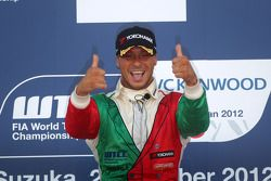 Stefano D'Aste, BMW 320 TC, Wiechers-Sport race winner