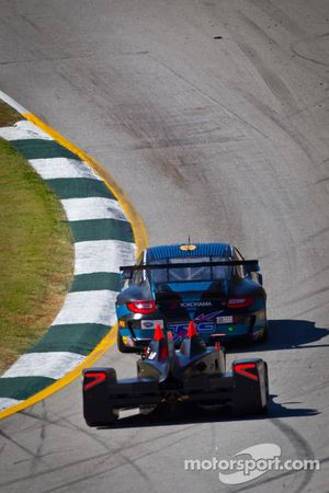 #66 TRG Porsche 911 GT3 Cup: Spencer Pumpelly, Emilio Di Guida, Nelson Canache, #0 Nissan DeltaWing