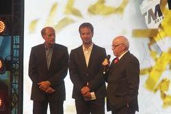 Hans-Jochaim Stuck, DMSB-Sport President and Hans Werner Aufrecht, Team Chef HWA, ITR President