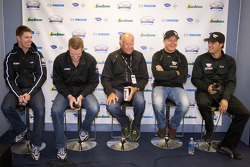Championship contenders press conference: Guy Smith, Chris Dyson, Greg Pickett, Klaus Graf, and Lucas Luhr