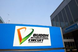 Buddh International Circuit sign
