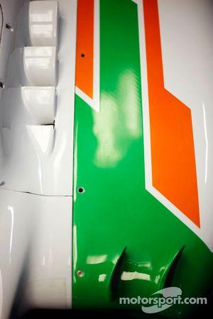 Sahara Force India F1 VJM05 sidepod detay