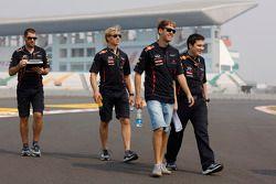 Sebastian Vettel, Red Bull Racing pist yürüyüşü