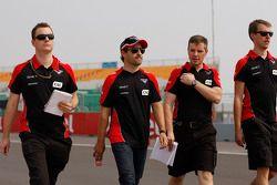 Timo Glock, Marussia F1 Team pist yürüyüşü