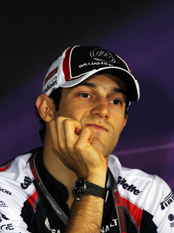 Bruno Senna, Williams in de FIA persconferentie