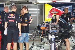 Sebastian Vettel, Red Bull Racing ve Guillaume Rocquelin , Red Bull Racing yarış mühendisi ve Red Bu