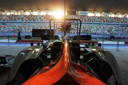 Sahara Force India F1 VJM05 pit stop