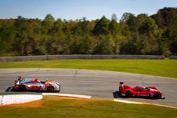#35 Oak Racing Morgan Nissan: Jacques Nicolet, Bertrand Baguette, Olivier Pla, #9 RSR Racing Oreca FLM09: Bruno Junqueira, Tomy Drissi, Ricardo Vera