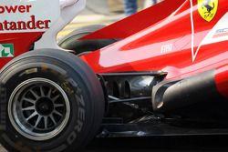 Ferrari échapement détail