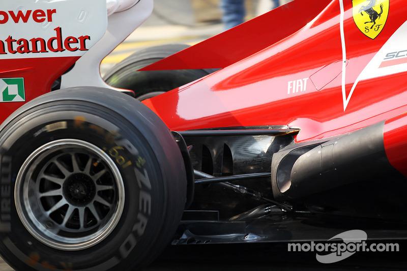 Ferrari uitlaat