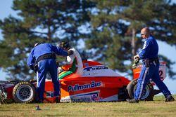 Martin Scuncio na crash