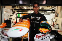 Jehan Daruvala, One From A Billion Academy Driver with the Sahara Force India F1 Team