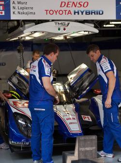 Toyota crew