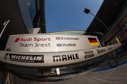 Audi car #2 pit stall