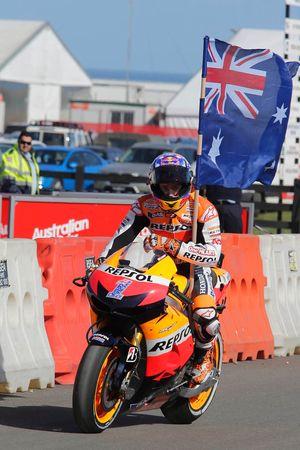 Кейси Стоунер. ГП Австралии, воскресенье, после гонки.