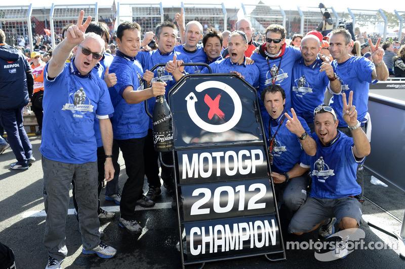 Selebrasi titel Jorge Lorenzo (2012)