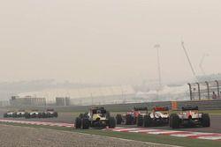 Timo Glock, Marussia F1 Team, back, field, start, race