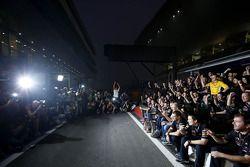 Sebastian Vettel, Red Bull Racing, Mark Webber, Red Bull Racing ve Christian Horner, Red Bull Racing