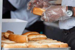 De beroemde Martinsville hotdogs