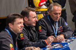 Larbre rijders Christophe Bourret, Pascal Gibon, Jean-Philippe Belloc
