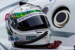 Allan McNish's helmet