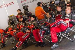 Audi Sport crew