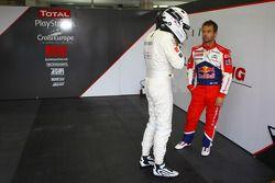Sébastien Loeb en Gilles Vannelet
