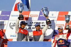 Podium: winnaars David Hallyday, Stéphane Ortelli
